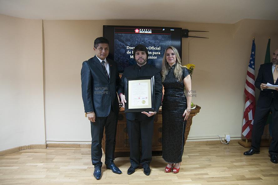 Ceremonia de Mastro Senior Marcelo Navarro
