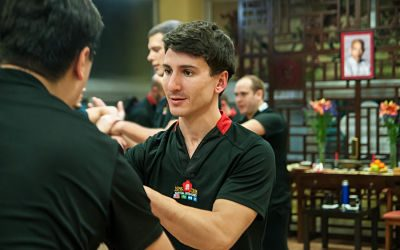 Transmitiendo Ving Tsun Kung Fu
